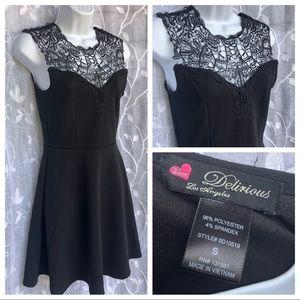 Delirious Los Angeles• little black dress- S
